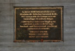 Gedenkstein auf dem Gelände des ehemaligen jüdischen Altenheims in Berlin-Mitte