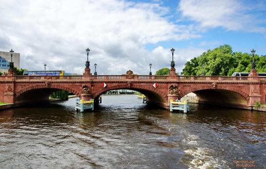 Moltkebrücke in Berlin Mitte